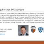 The Unexpected Business Exit - Al Danto, Rice University